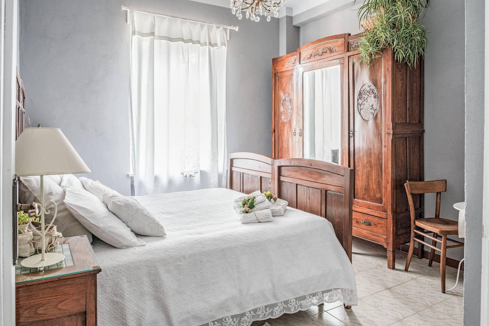 Camera quadrupla - Stanza di nonna - Affitta camere - Villa Curt Nicia - Nizza Monferrato